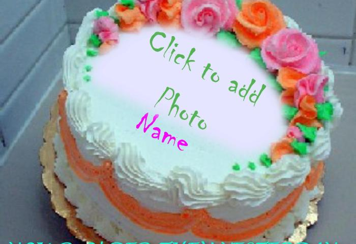 Happy Birthday Cake With Name Edit Online Free Brithday Cake