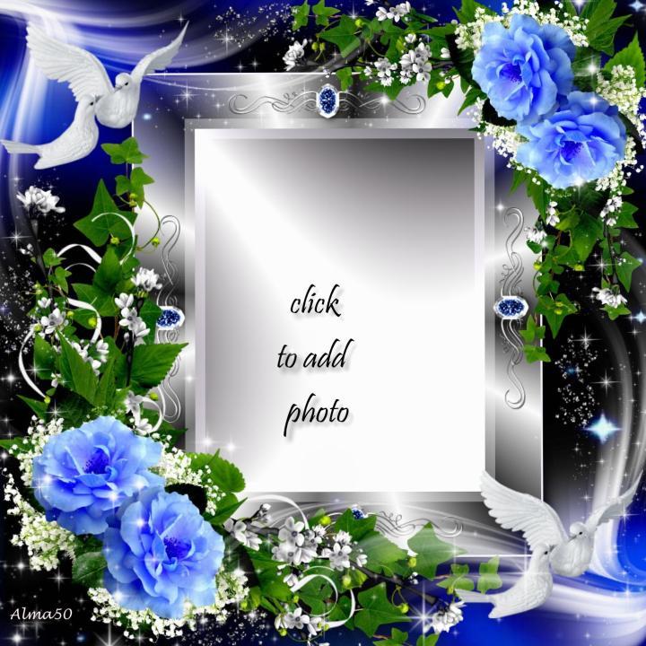 Imikimi Frames Flowers   Frameswall.co