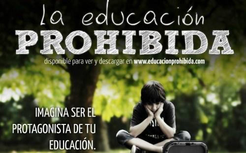 Carteñ de La educación prohibida
