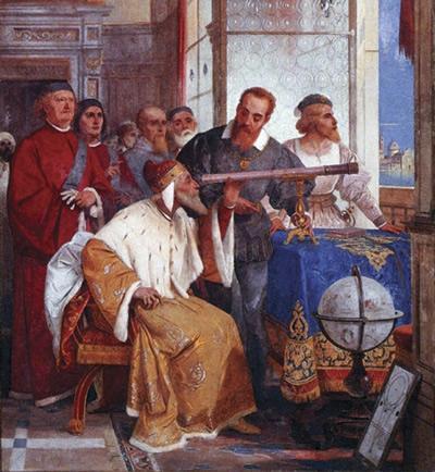 Galileo Galilei y otros científicos
