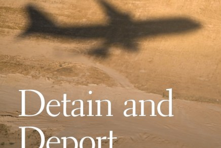 """Detain and Deport: The Chaotic U.S. Immigration Enforcement Regime"" Book Launch and Discussion"