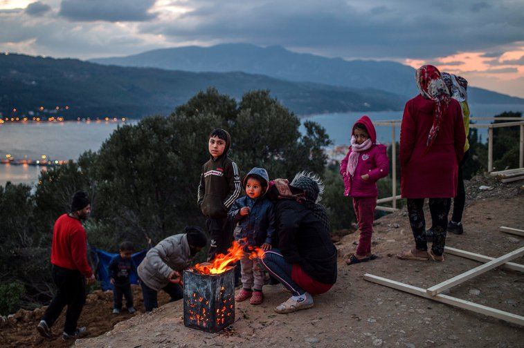 Harsh systems that include detention await migrants who make it to the US or France. | Angelos Tzortzinis/DPA/PA Images. All rights reserved
