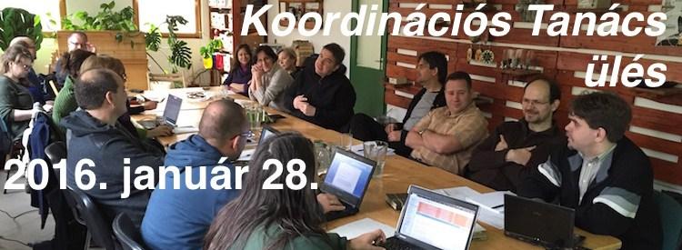2016.01.28. – Koordinációs Tanács ülés