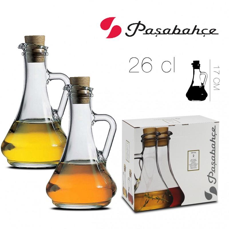 bouteille pour huile vinaigre x2 26 cl