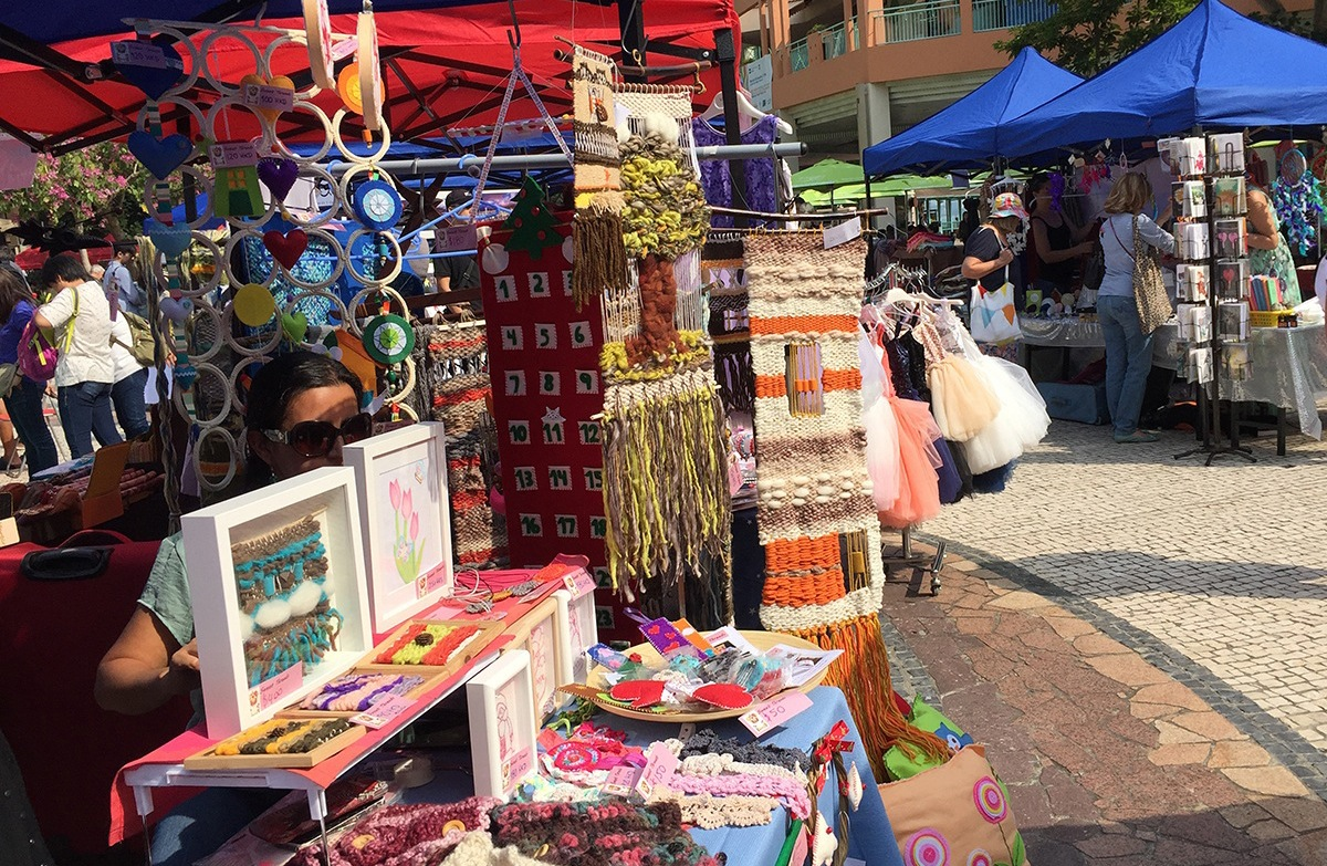 Sunday Market in Discovery Bay - Photograph courtesy of Hand Made Hong Kong Market