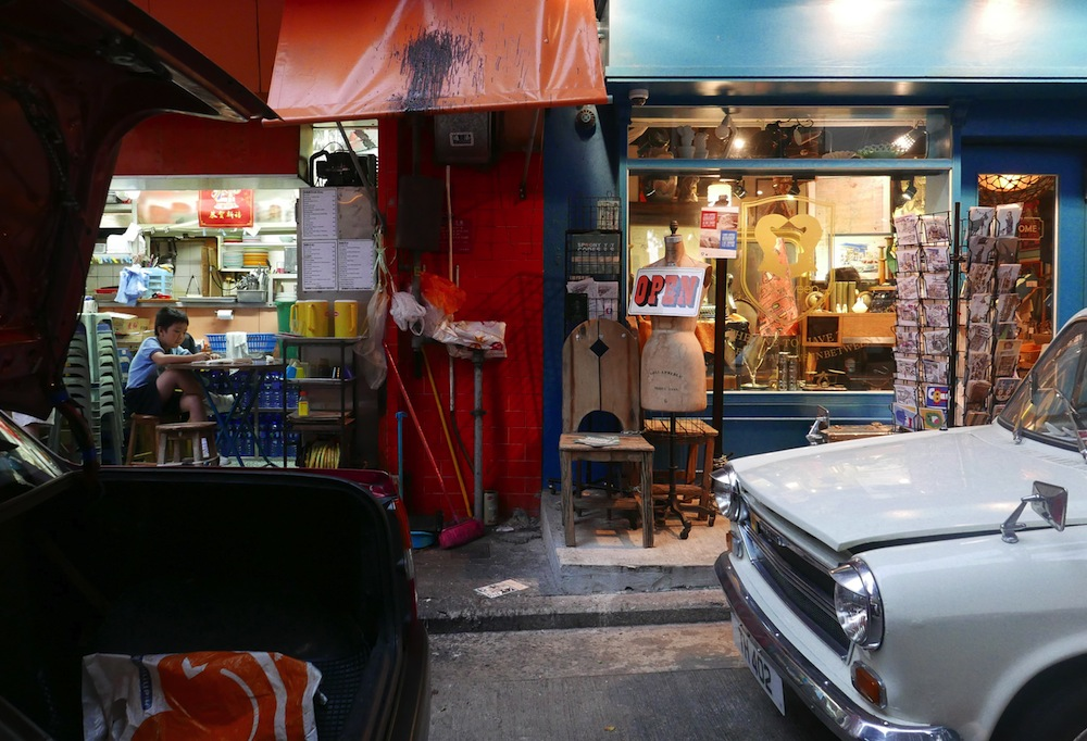 In between shops - Photograph of Sophie Chalumeau