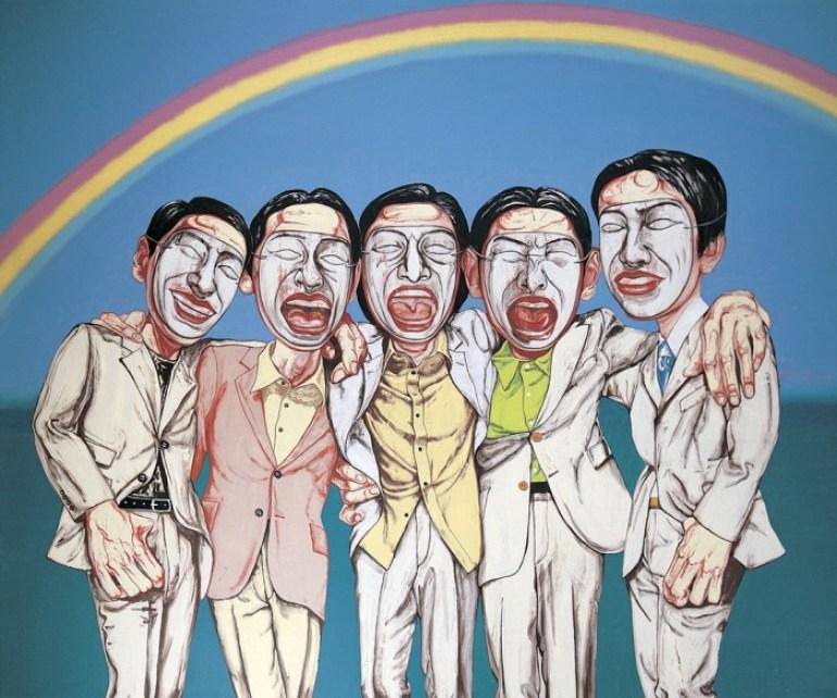 Zeng Fanzhi - rainbow - 1997 - M+ Sigg Collection Hong Kong
