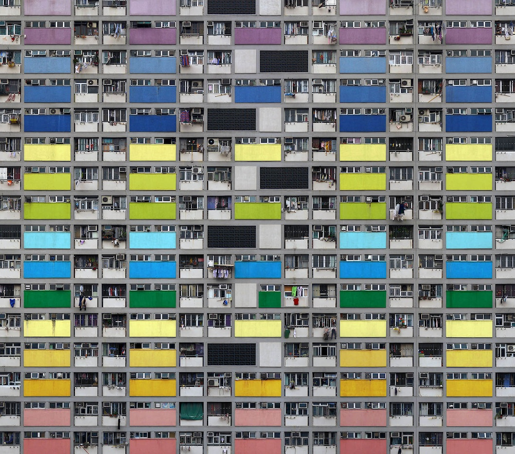 Architecture of Density Series - Michael Wolf