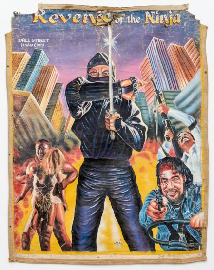 Revenge of the Ninja - by Joe Mensah - 1990