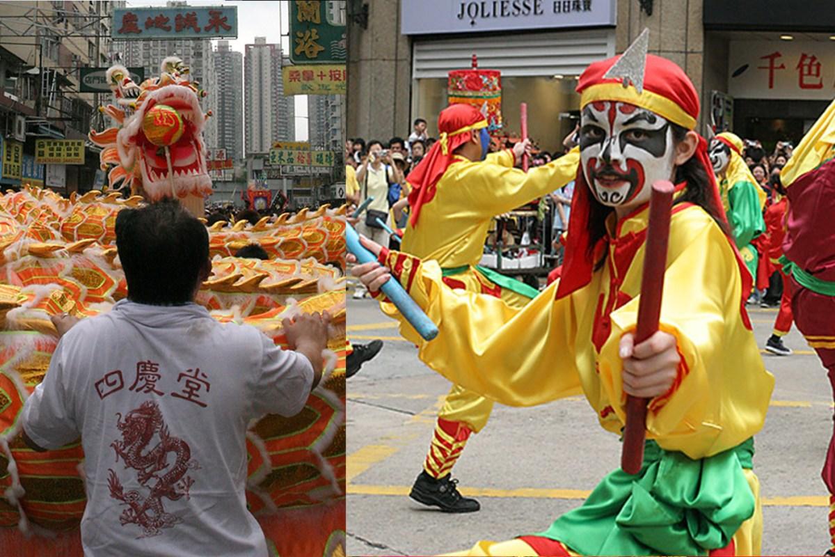 Lion Danse in Yuen Long