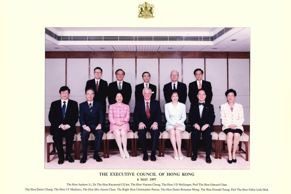 Executive Council of Hong Kong 6 May 1997