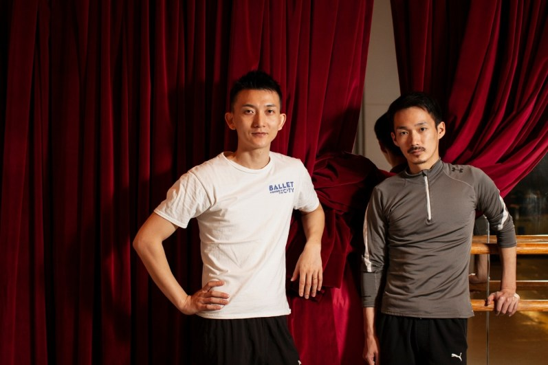 Ricky Hu Songwei and Yuh Egami