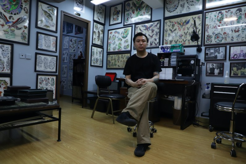 Justin Ng carries on the tradition of Jimmy Ho's shop