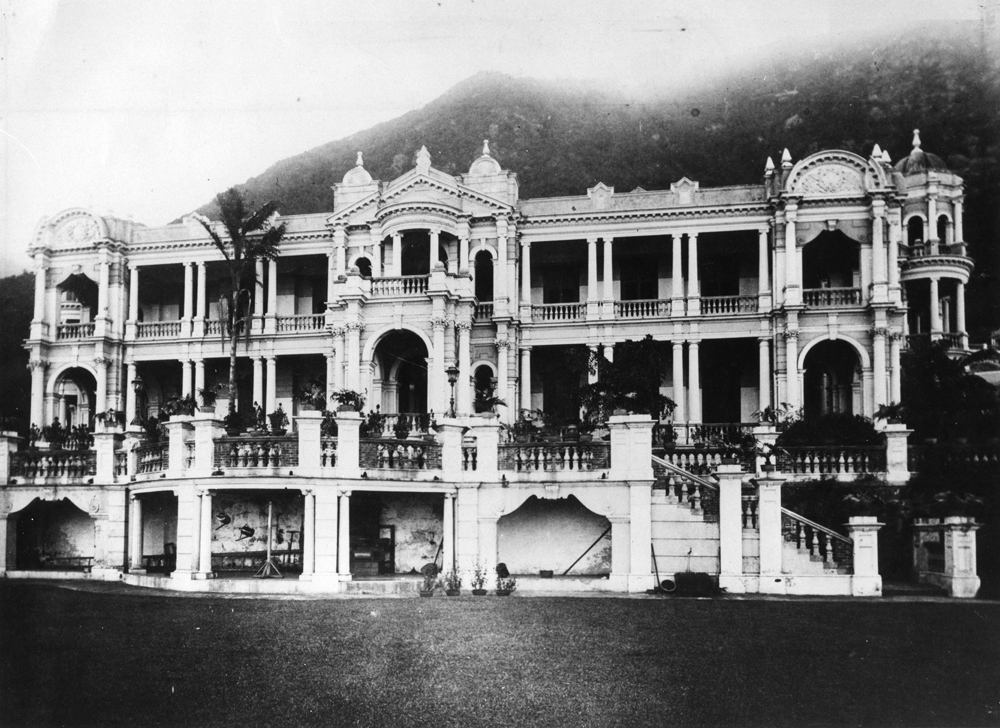 Sir Catchick Paul Chater's residence, Marble Hall, in 1926