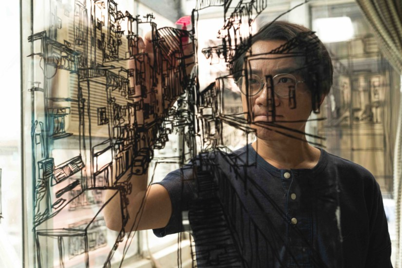 Wong Cho-lam plays a man with a terminal illness who's last days are spent reliving a happier youth and chronicling Hong Kong's vanishing heritage