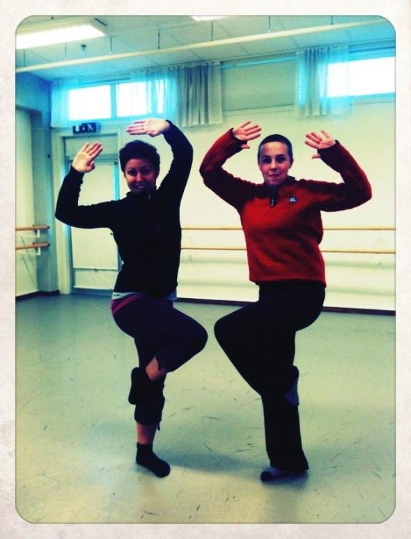 Dansrepetitioner Skellefteå