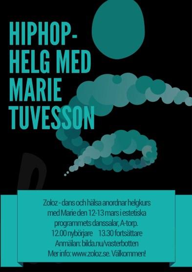 ZOLOS ARRANGERAR_ HIPHOP MED MARIE TUVESSON
