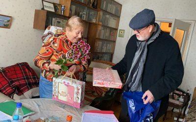 """Фонд посетил на дому пожилых, одиноких и больных ветеранов войны и труда в рамках программы """"Москва – добрый город"""""""