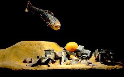Экспертный совет фестиваля посмотрел спектакль в театре имени Сергея Образцова «Ленинградка», в основу сюжета которого реальная история выжившей в блокаду  4-летней девочки Вали