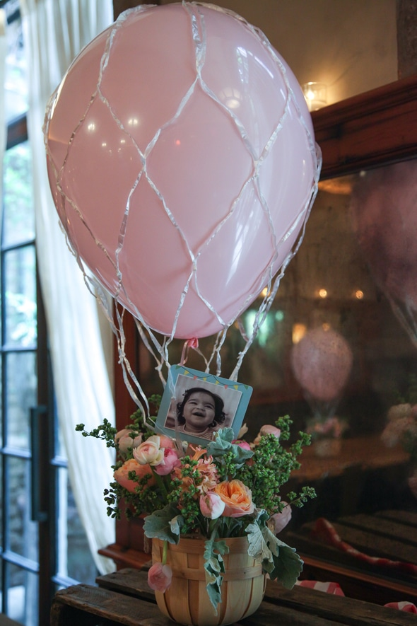 Hot Air Balloon Party Pretty My Party Party Ideas