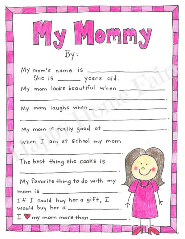 Free Mother's Day Printables - Pretty My Party - Party ...