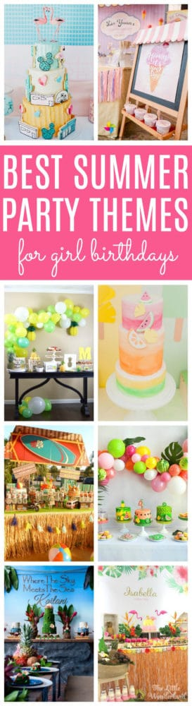 11 Best Girls Summer Party Themes Pretty My Party Party Ideas