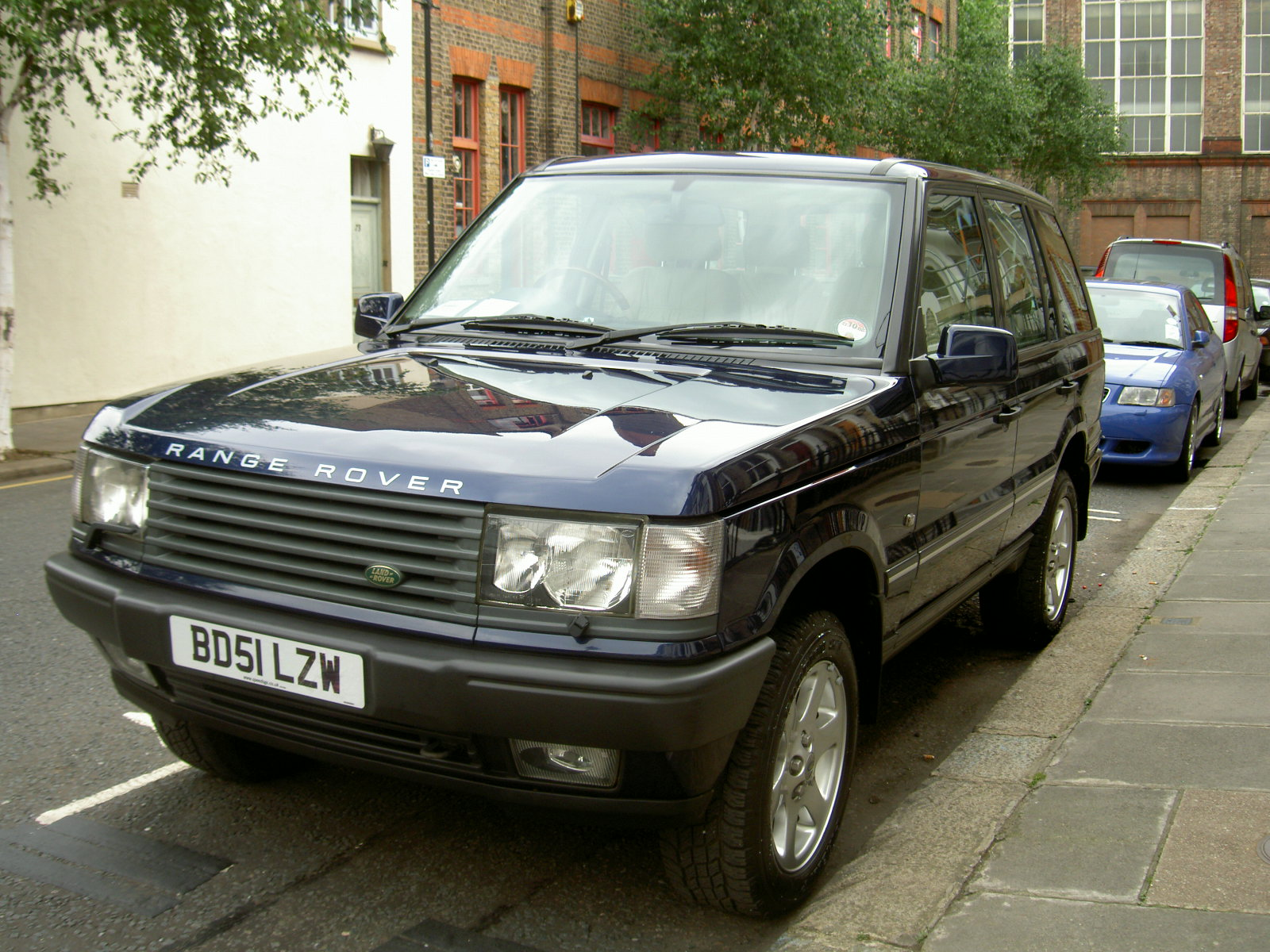 2002 Land Rover Range Rover Information and photos ZombieDrive