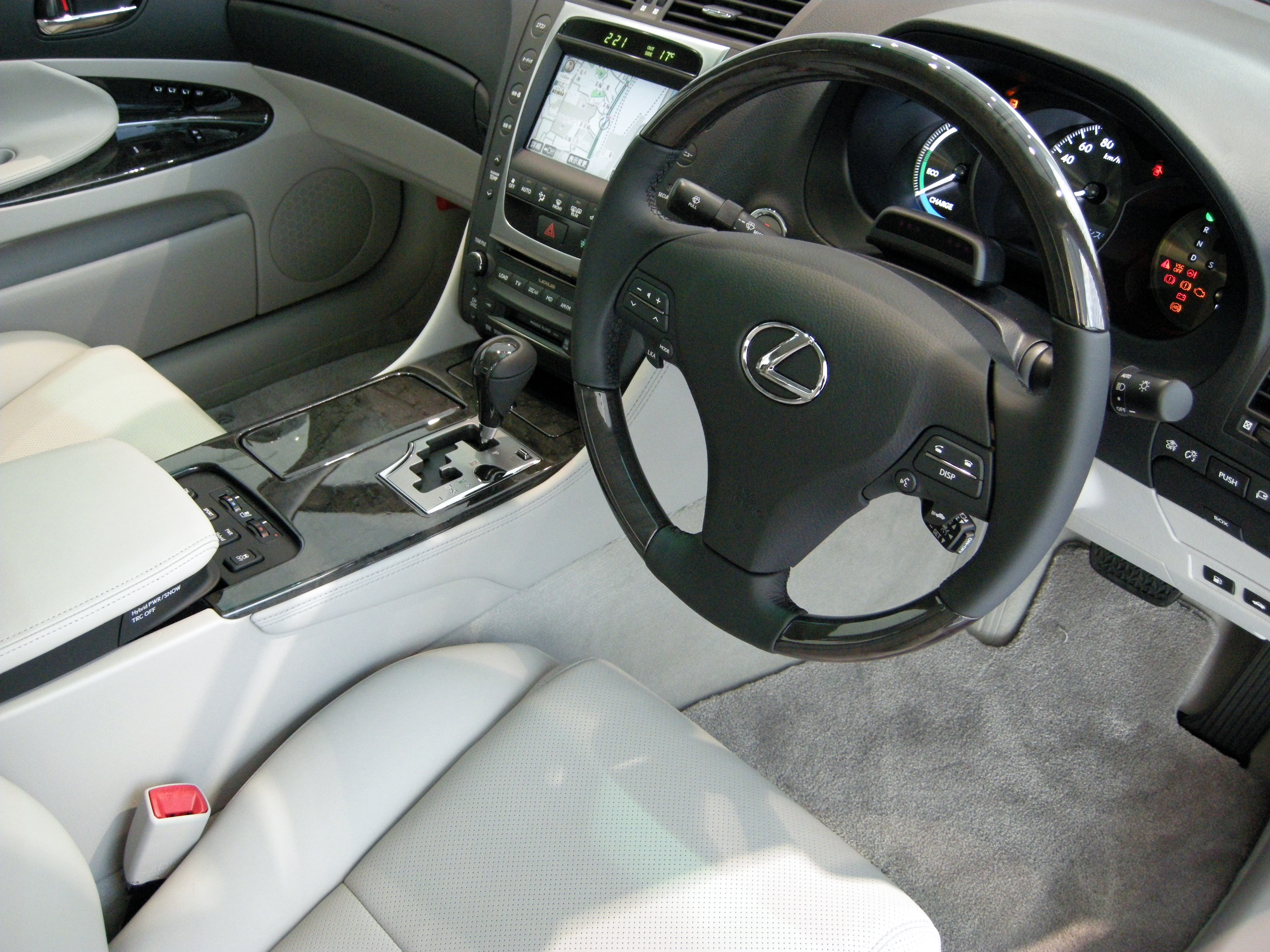 2007 Lexus GS 450h Information and photos ZombieDrive