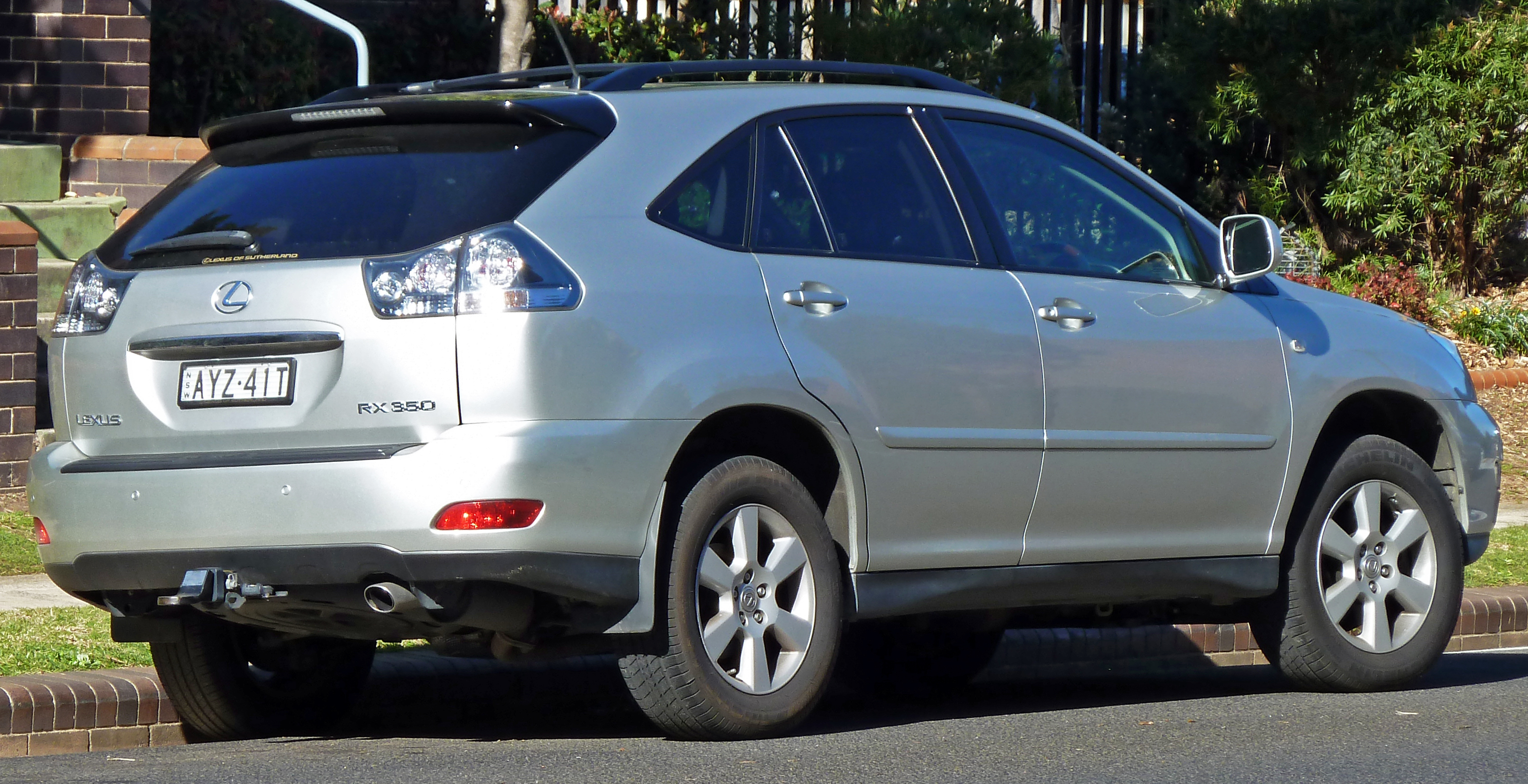 2007 Lexus RX 350 Information and photos ZombieDrive