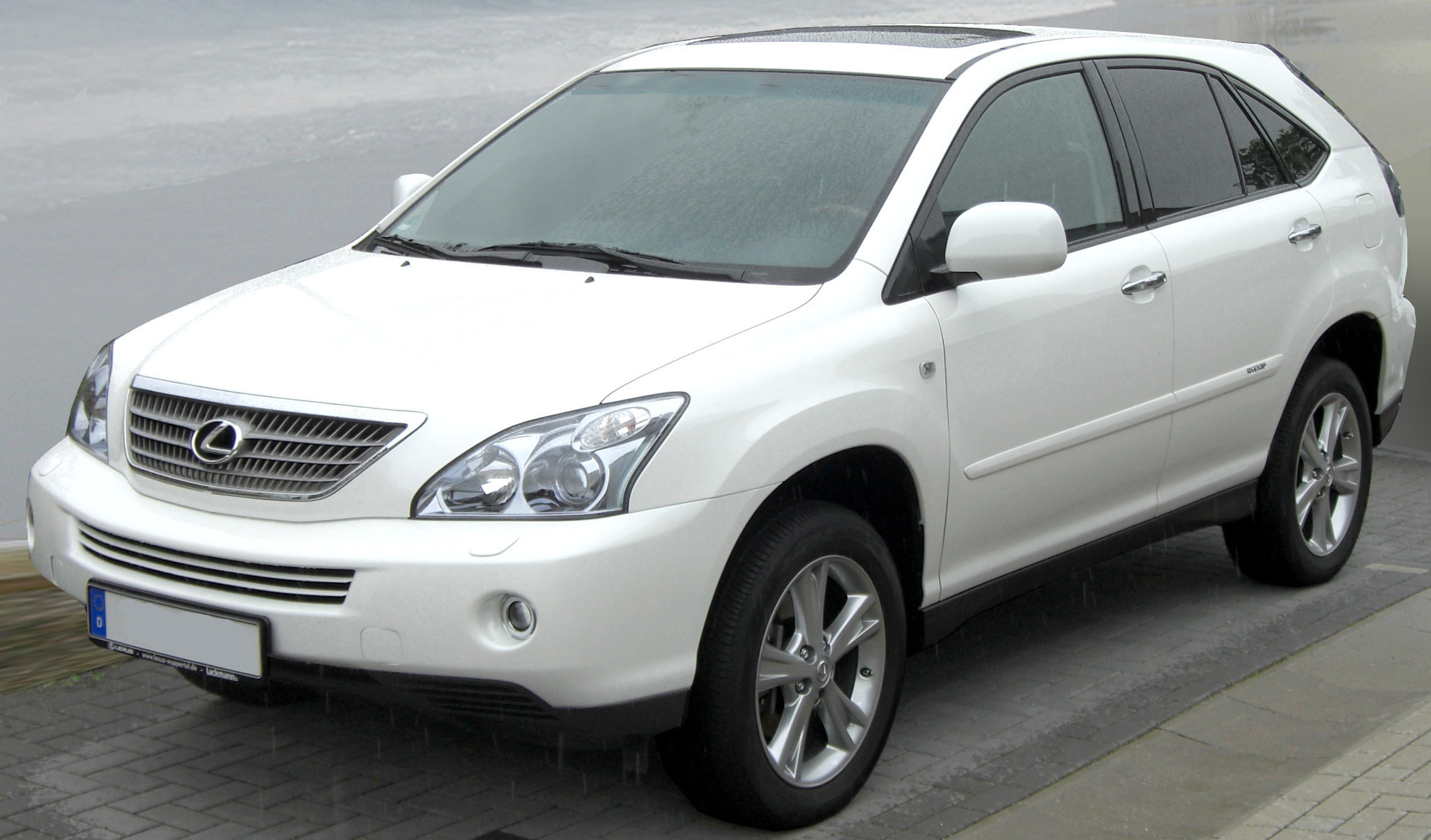 2008 Lexus RX 400h Information and photos ZombieDrive