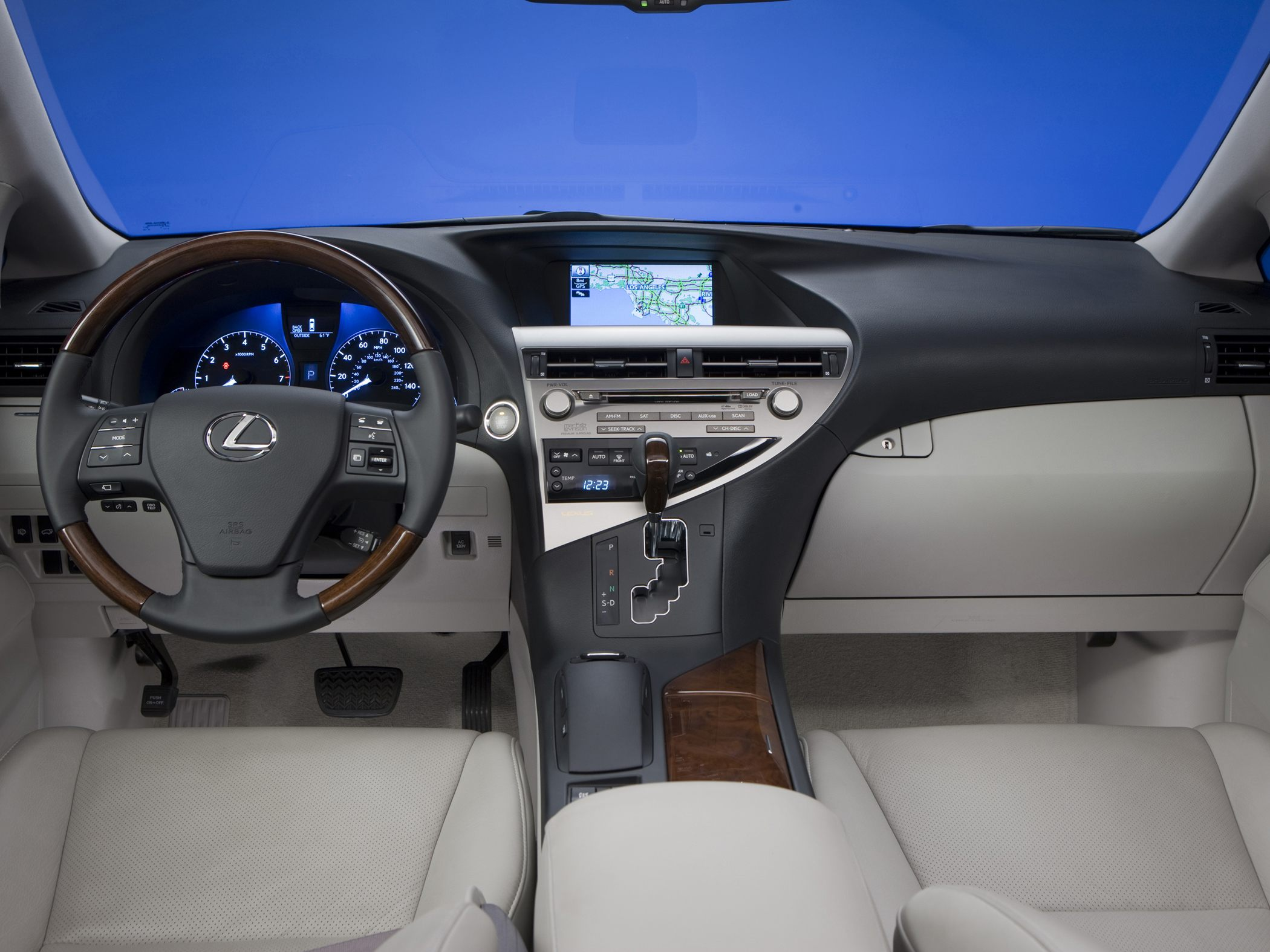 2011 Lexus RX 350 Information and photos ZombieDrive