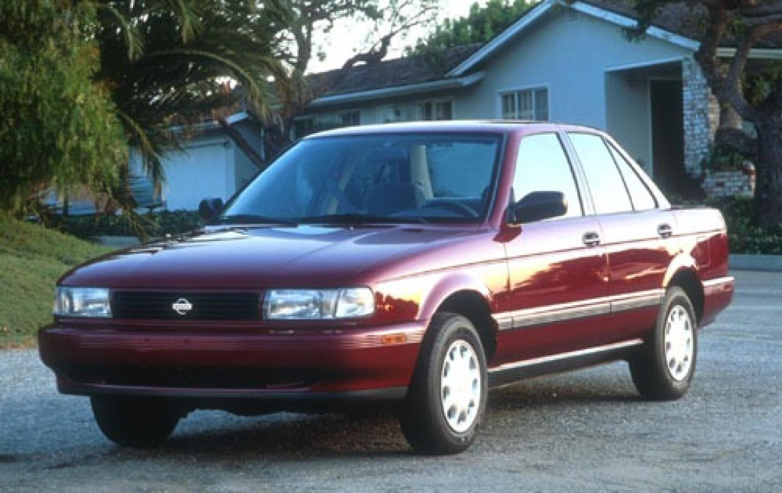 1990 Sentra Nissan Coupe