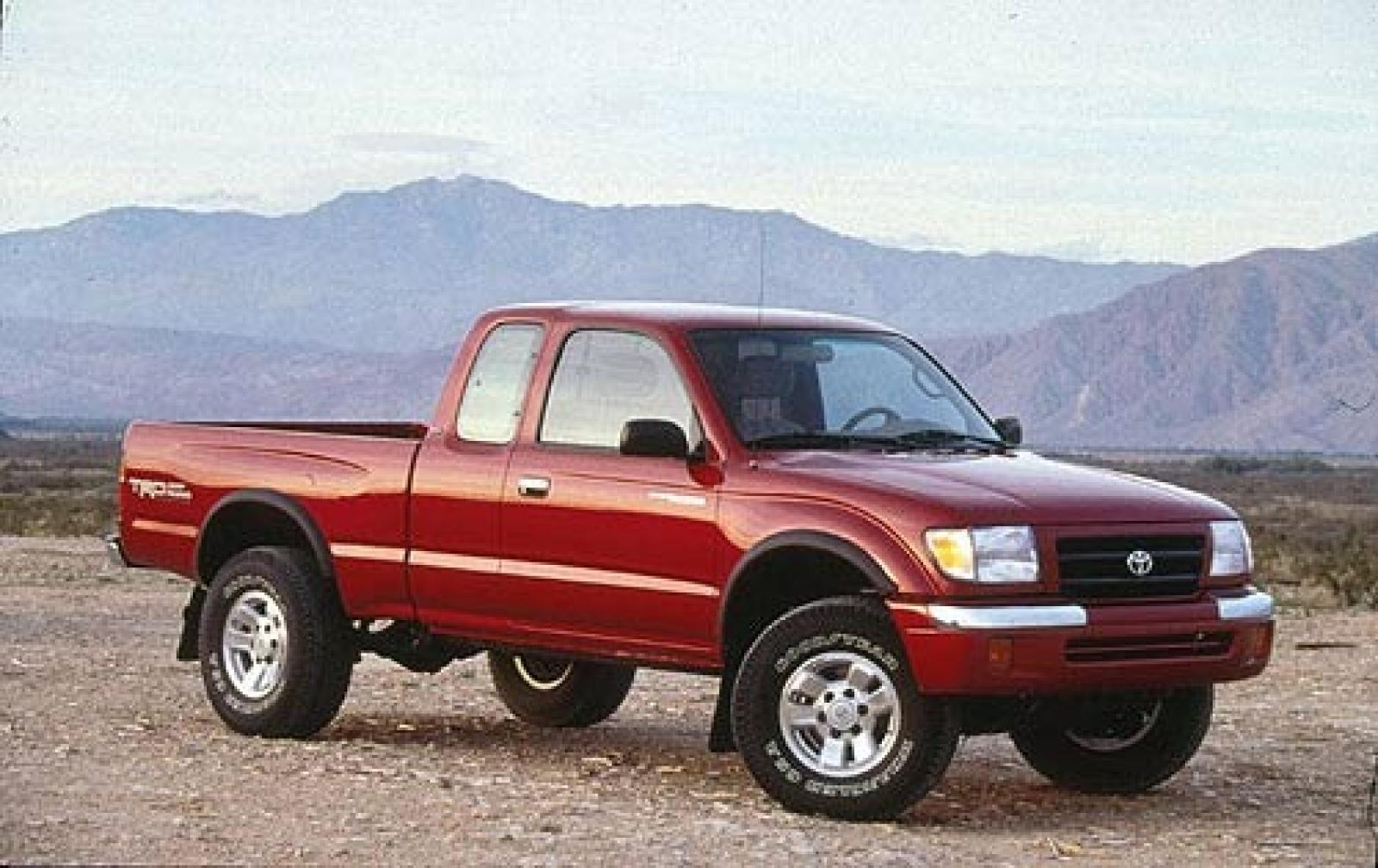 1999 Toyota Tacoma Accessories Catalog