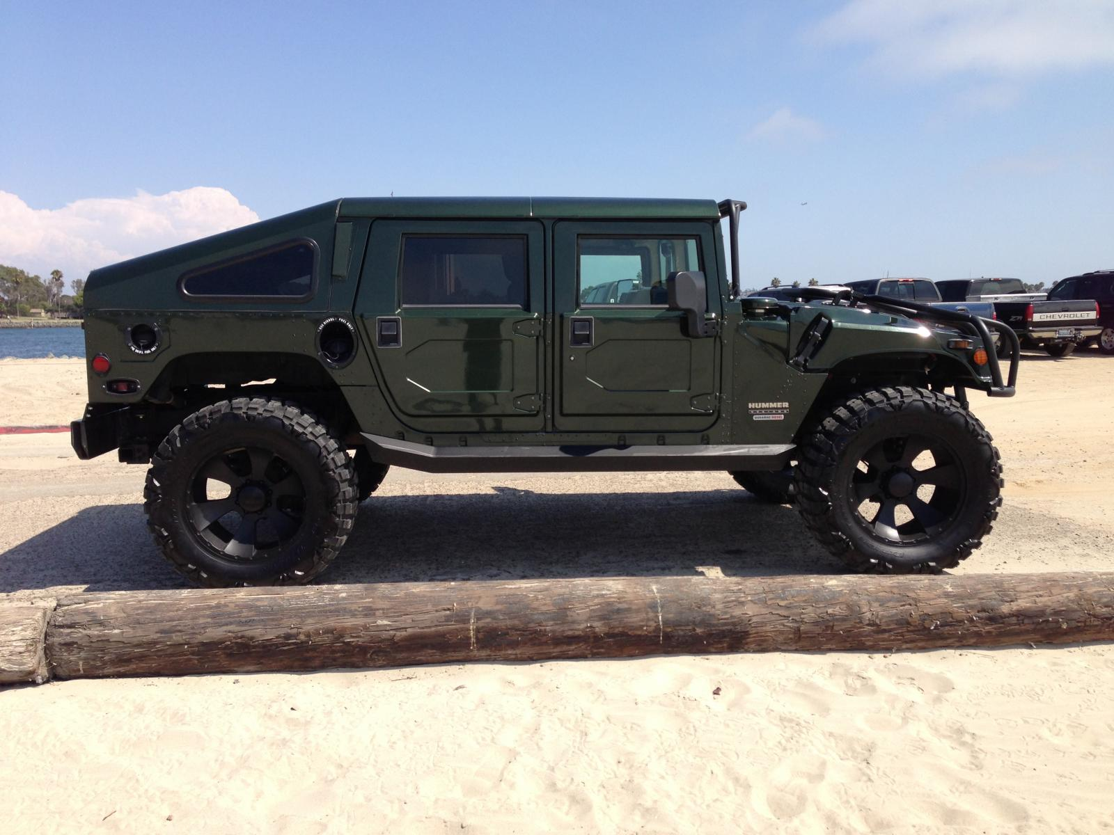2001 HUMMER H1 Information and photos ZombieDrive
