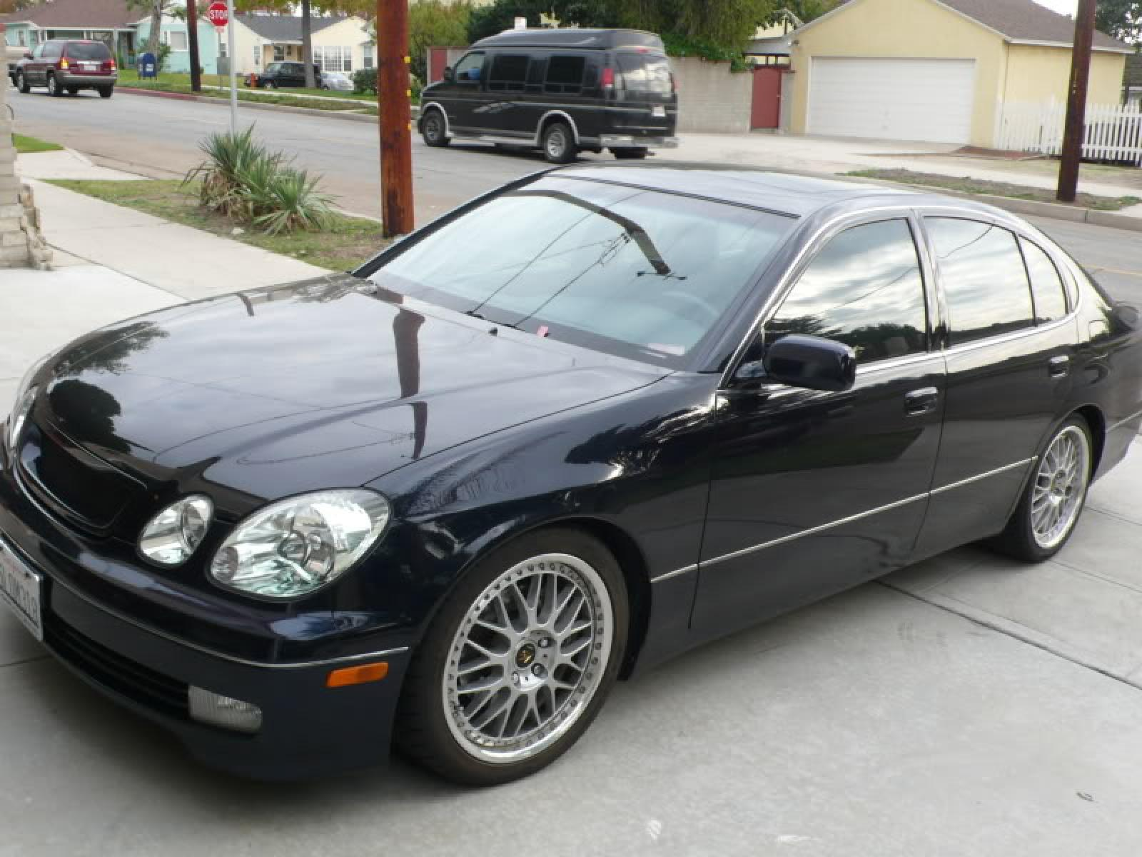 2003 Lexus GS 300 Information and photos ZombieDrive