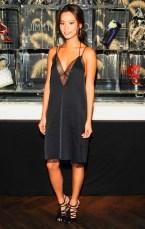 jamie-chung-street-style-black-lace-dress-