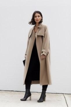 5-brown-coat-in-a-black-dress