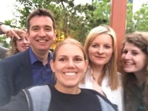 Mark Little, Aine Kerr, Mandy Jenkins
