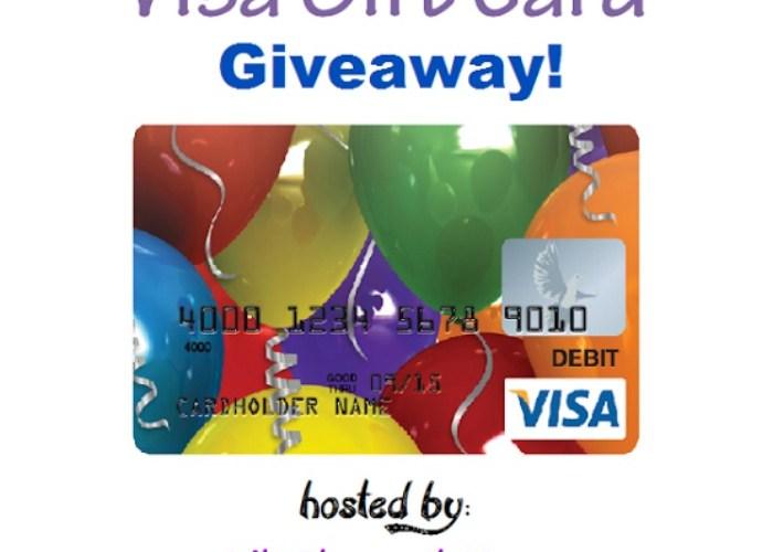 $150 Visa Gift Card Giveaway Ends 04/21