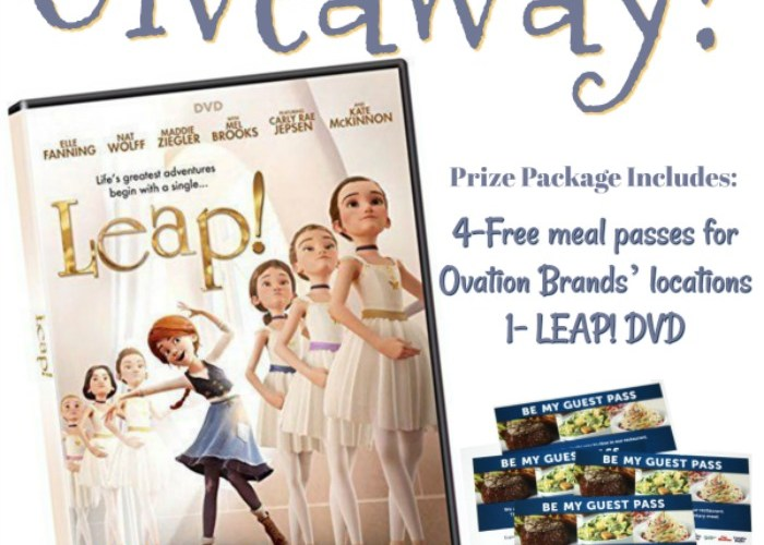LEAP! Family Night Prize Package