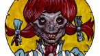fast food zombie wendy
