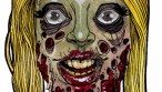 heads of the living dead zombie girl