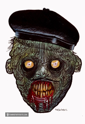 hotld french beret zombie