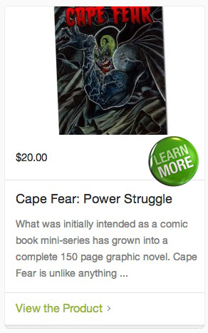cape fear comic