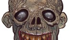 Zombie Art Grinning Goofus Zombie Art by Rob Sacchetto