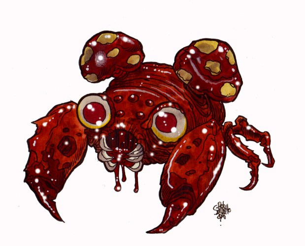 Zombie Art : Paras Pokemon Zombie Art by Rob Sacchetto
