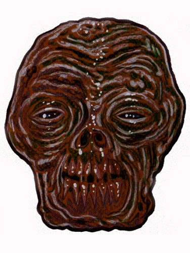 Zombie Art : Ancient Head Zombie Art by Rob Sacchetto