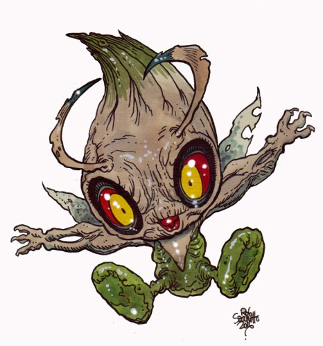 Zombie Art : Celebi Pokemon Zombie Art by Rob Sacchetto