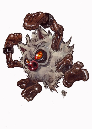 Zombie Art : Prime Ape Pokemon Zombie Art by Rob Sacchetto