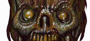 Zombie Art : Slimy Block Head